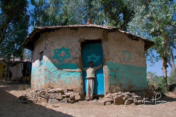 Falasha Village in Gondar