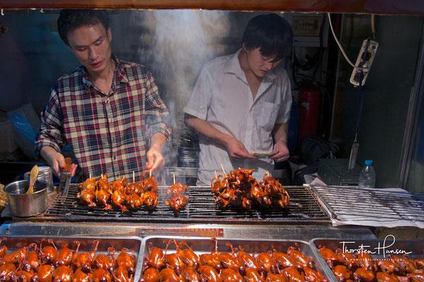 Dong Hua Men Nachtmarkt in Peking