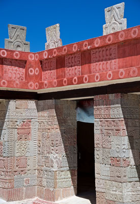 Der Palacio de Quetzalpapálotl