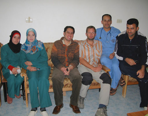 Fotoshotting im Hopital in Raqqa
