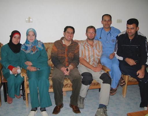 Fotoshotting im Hopital in Raqqa