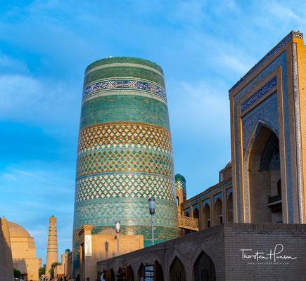 Die Medrese Muhammad Amin Khan ist eine Medrese in Ichan Qal'а, der historischen Altstadt Chiwas.