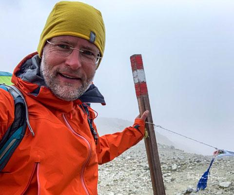 Der höchste Punkt der Alpenüberquerung auf dem Traumpfad München-Venedig
