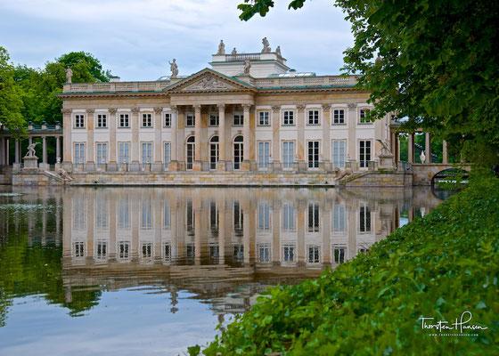 Łazienki-Palast im Łazienki-Park