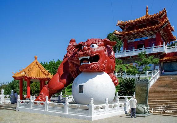 Das Ergebnis war der heutige Wenwu-Tempel. Die Architektur des Tempels hat den Palaststil Nordchinas.