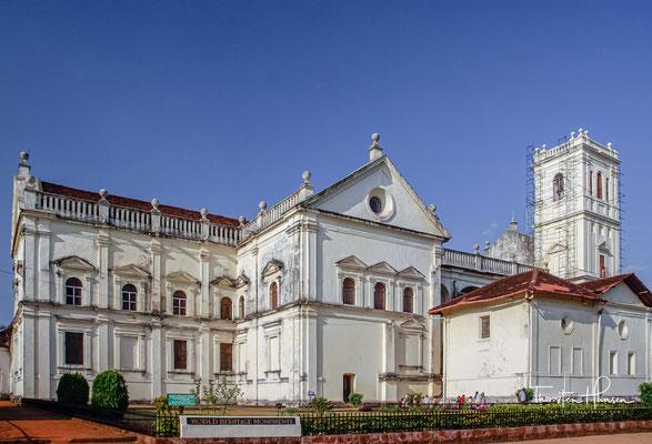 Die Kathedrale von Goa, auch geläufig als Sé de Santa Catarina, auf Konkani Bhagevont Katerinachi Katedral,