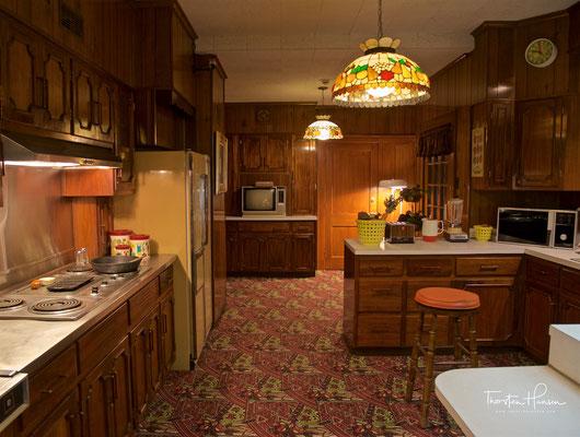 Küche in Graceland - Elvis Presley´s  Anwesen in Memphis, Tennessee