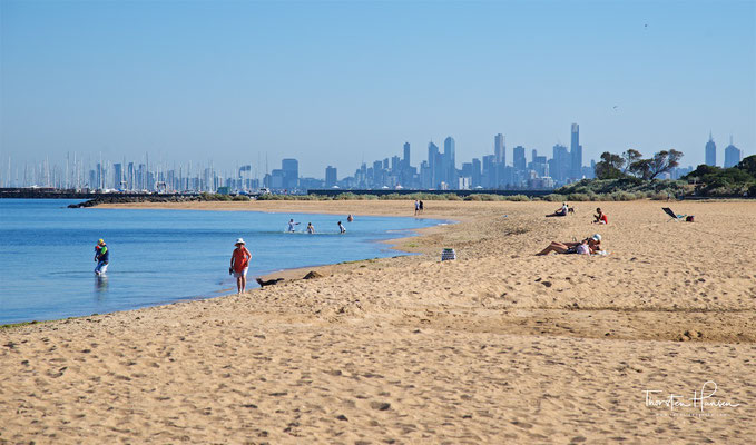 Strand an der Mornington Halbinsel