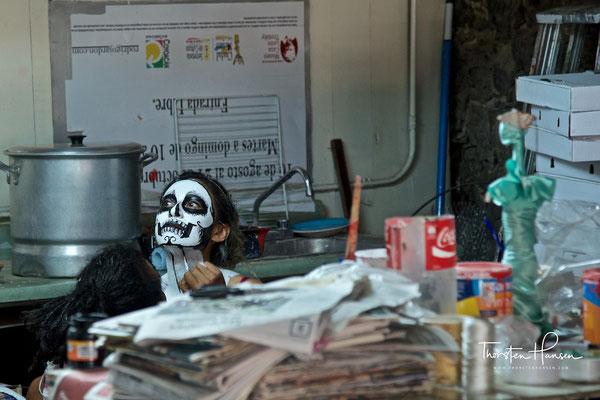 Der Tag der Toten in Coyoacán