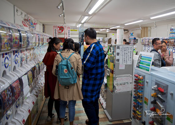 Japanisches Automatengeschäft in Kyoto