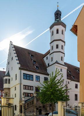 """Das """"Steinhaus zu Nördlingen"""" ist seit nunmehr über 600 Jahren das Rathaus der Stadt."""