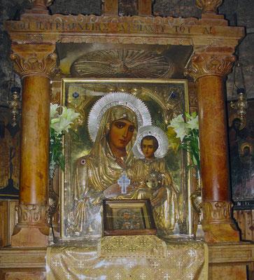 Die Grabstätte der Jungfrau Maria, Ölberg, Jerusalem.