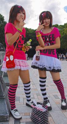 Harajuku - Treffpunkt der Cosplayer in Tokio