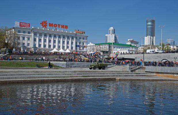 Stadtzentrum von Jekatarinburg