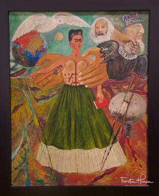 Frida-Kahlo-Museum Casa Azul in Coyoacan