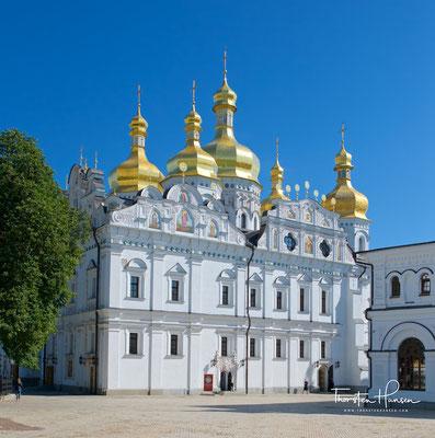 Die wiedererbaute Uspenski-Kathedrale