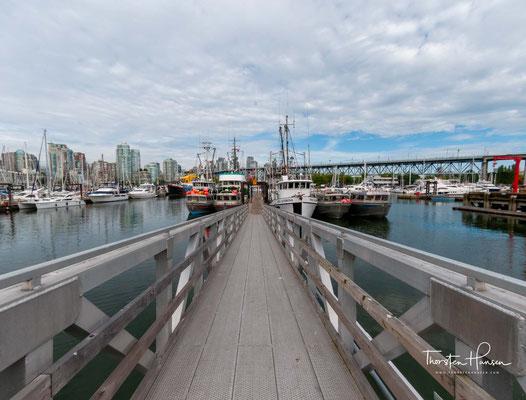 Granville Island ist eine kleine Halbinsel sowie ein Einkaufs- und Kulturviertel in der kanadischen Stadt Vancouver.