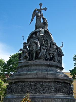 Nationaldenkmal Tausend Jahre Russland