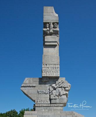 Es erinnert an die Verteidigung der Westerplatte durch polnische Soldaten zu Beginn des Zweiten Weltkrieges.