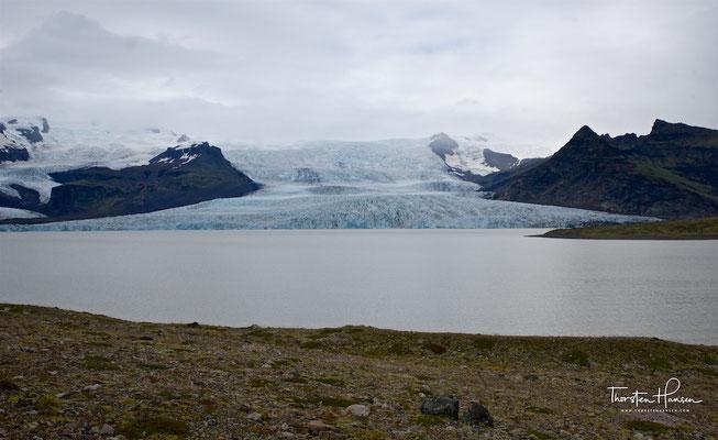 Fjallsárlón ist ein Gletschersee am südlichen Ende des isländischen Gletschers Vatnajökull.