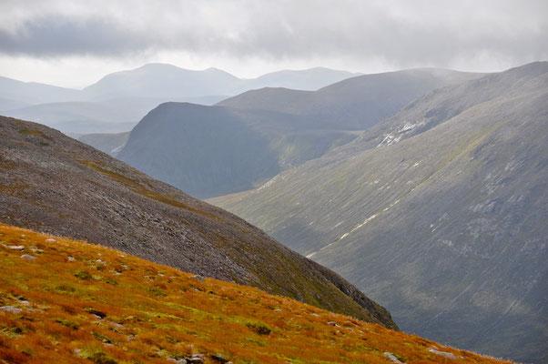 Besteigung des Ben Macdui in den Cairngorm Mountains