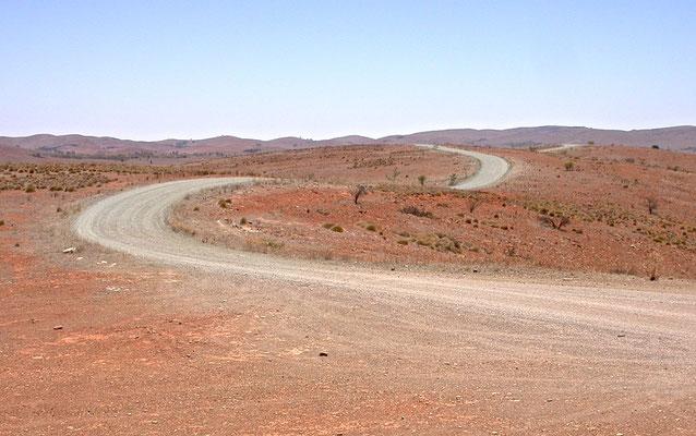 Unterwegs auf dem Oodanatta Track