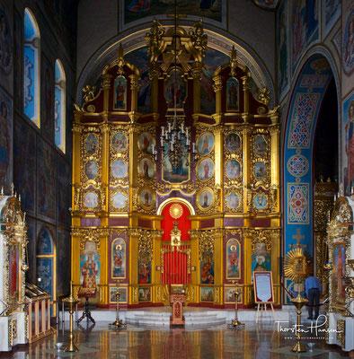 Heilige-Barbara-Schiff der Michaelskathedrale in Kiew