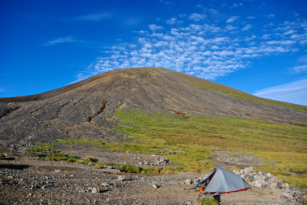 Asahi-dake - der möchte Berg in Hokkaido