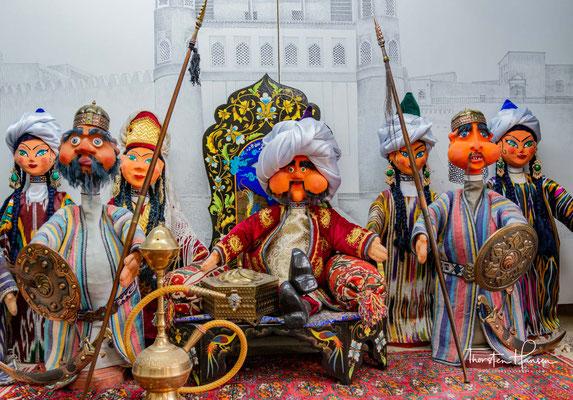 Die berühmten Puppen aus Buchara