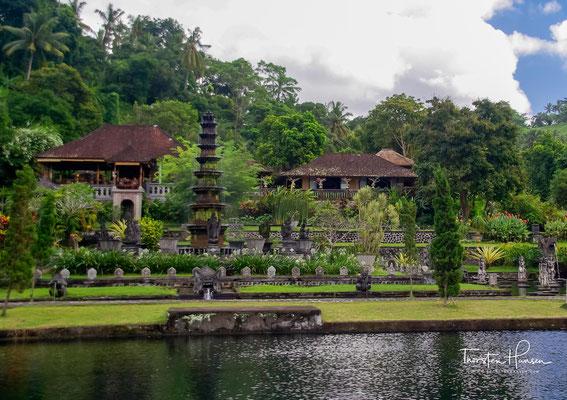 Der Wasserpalast Taman Tirta Gangga (auch Tirtagangga) ist sowohl bei Touristen als auch bei Einheimischen beliebt.