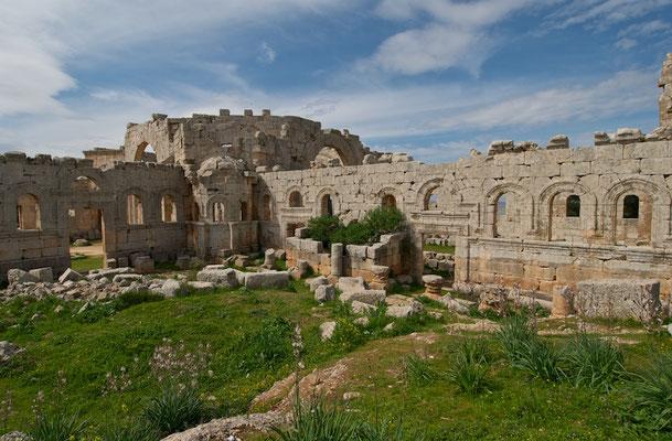 Simeonskloster - Qala'at Samaan