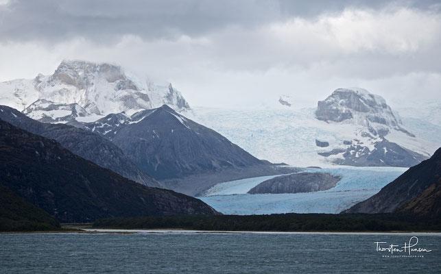 Alemania Glacier, auch bekannt als Roncagli Glacier,