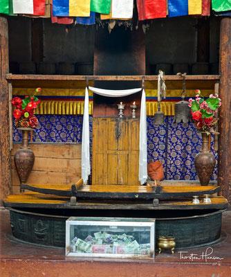 Küche im Kumbum Champa Ling