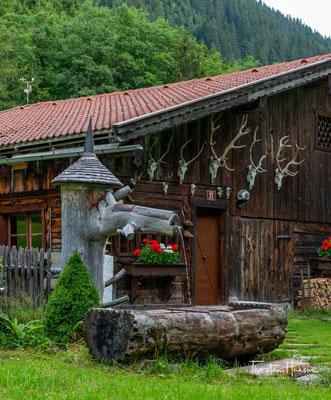 Heute führt mich der Wandertag von der gemütlichen und sauberen Voldertalhütte zur Lizumerhütte.