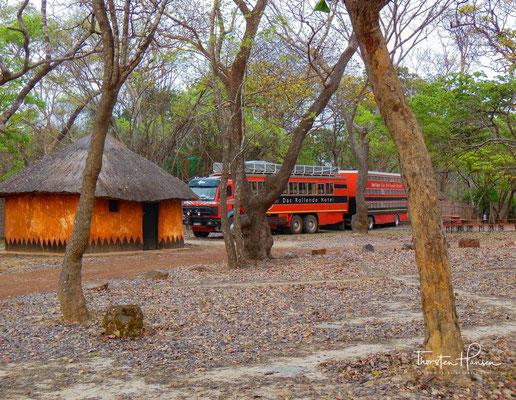 Mit dem Rotel Bus im Kasanka Nationalpark