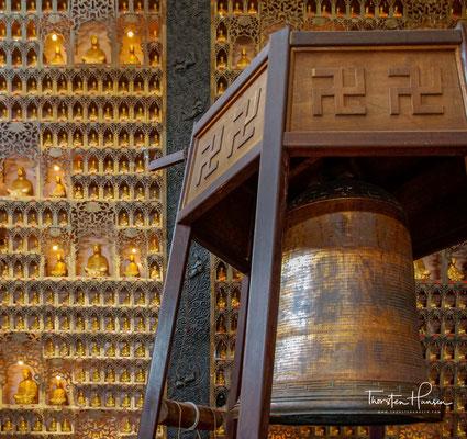 Wer das Zentrum des Fo Guang Shan in Taiwan besucht, sieht vor allem eines – Buddha-Statuen, so weit das Auge reicht.