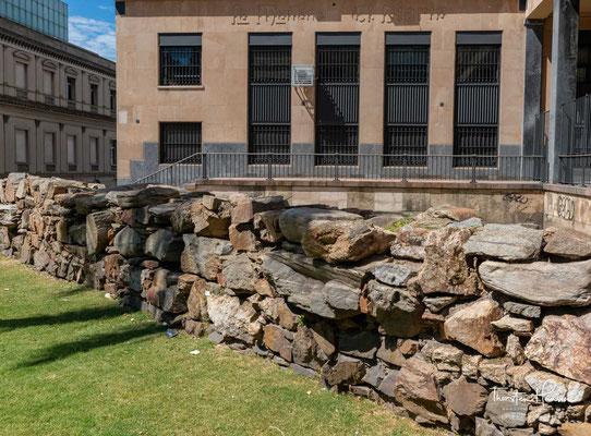 Reste der alten Stadtmauer von Montevideo