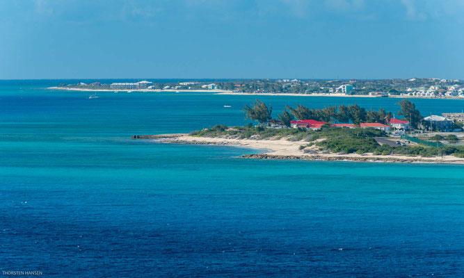 Auf Grand Turk liegt Cockburn Town, die Hauptstadt der Turks- und Caicosinseln.