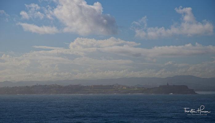 Erster Blick auf Puerto Rico und San Juan