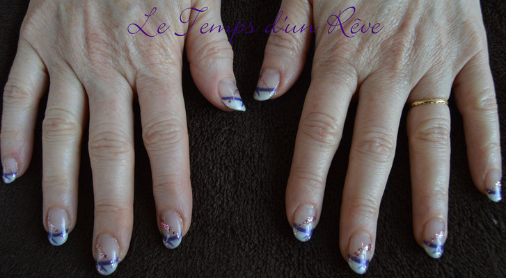 vernis semi permanent fench le temps d'un rêve