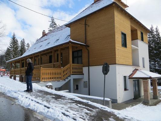 Das neue Kinderheim in Borsec