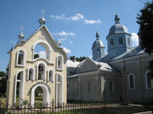 Die Kirche in Brody/Westukraine