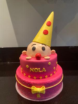 Bumba taart meisje