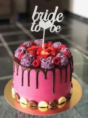 Drip taart