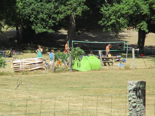 Aire de camping de la Chevauchée Ferme Equestre