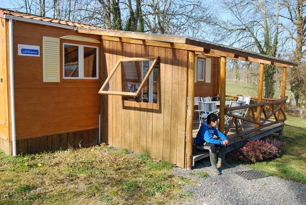 Bungalow 4/6 personnes Camping la Chevauchée