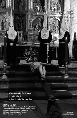 Cartel del Vía Crucis 2.014