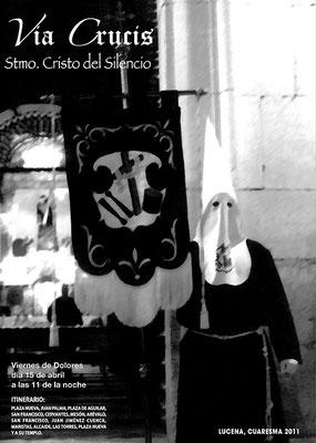Cartel del Vía Crucis 2.011