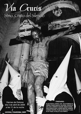 Cartel del Vía Crucis 2.009