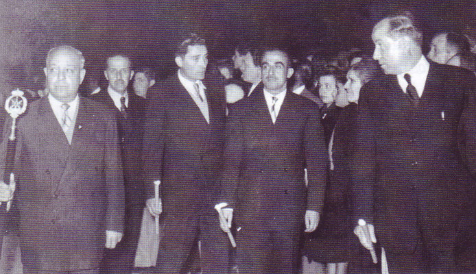 Señores D. José Figueredo, D. Bibiano Palma, D. Francisco Cabrera, D. José Fernández, y D. Francisco Cantero